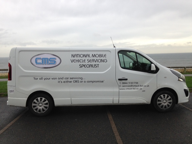 New CMS UK Van